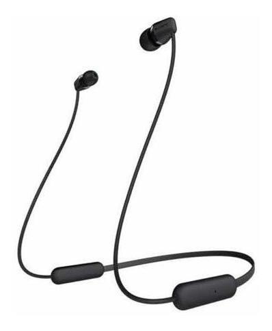 Imagen 1 de 5 de Auriculares Inalámbricos In-ear De Sony Wi-c200, Negros.