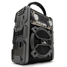 Rádio Retro Portátil Bluetooth Am Fm Sw Com Bateria Entrada
