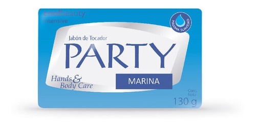 Jabon En Barra Party Marina X 130 G