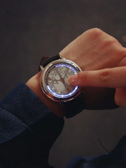 Eletrônica Inteligente Display Led Moda Relógios Feminino