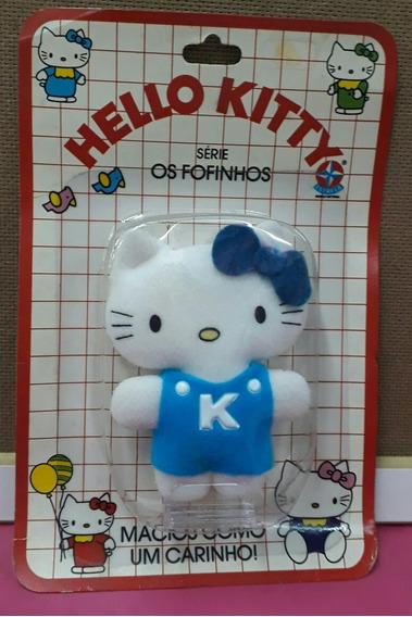 Hello Kitty - Anos 80 - Colecionável - Azul - Estrela