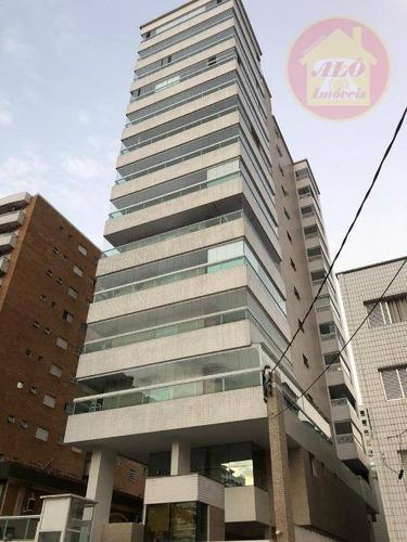 Apartamento À Venda, 65 M² Por R$ 370.000,00 - Canto Do Forte - Praia Grande/sp - Ap4260