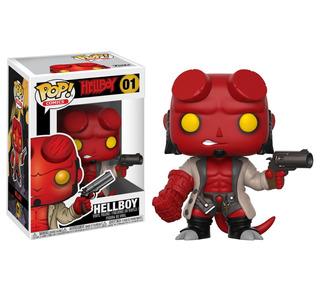 Funko Pop Comics #01 Hellboy Dakentoys