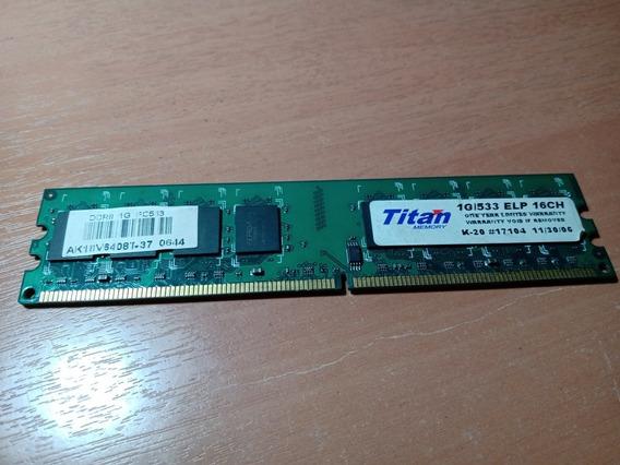 Memoria Ddr2 1gb 533 Titan