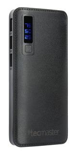 Tecmaster Bateria Portátil Led 10000 Mah Indicador De Carga