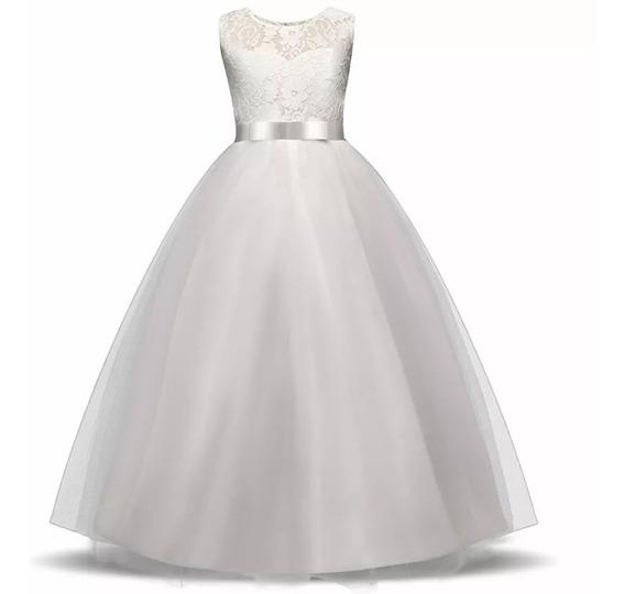 Vestido Niña, Bautizo, Gala, Paje, Princesa, Fiesta, Matrimo