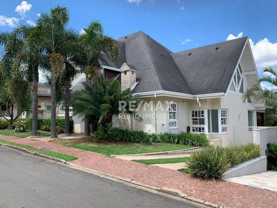 Casa Com 4 Dormitórios Para Alugar - Jardim Paiquerê - Valinhos/sp - Ca6699