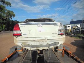 Sucata Para Venda De Peças Usadas Toyota Etios 1.5 Xls 96cv