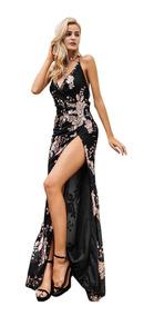 Vestidos De Fiesta Elegante Sexy Espalda Descrubierta