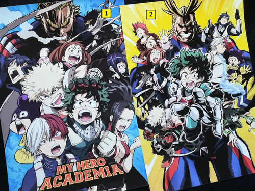 Posters A3 29x42cm Anime Boku No Hero Academia #2 Niponmania