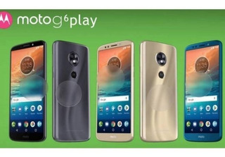 Motorola Moto G6 Play 32gb, 3gb Ram, 5.7 Android 8.0 Oreo.