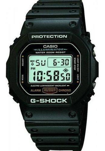 Relógio Casio G Shock Dw5600e-1vdf. N.f. 100% Original.