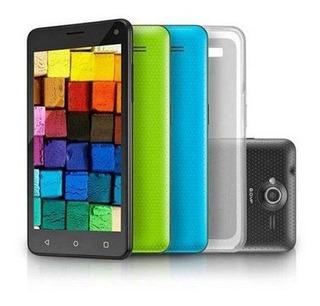 Smartphone Multilaser Ms50 Colors Quad Core Dual Cam 8mp