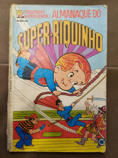 Gibi Almanaque Do Super-riquinho Nº 2 Editora Rge 1977