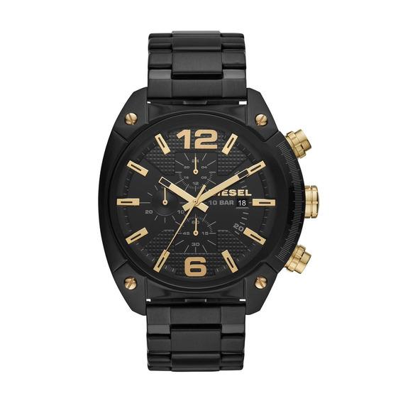 Relógio Masculino Diesel Dz4504/1pn 49mm Aço Preto