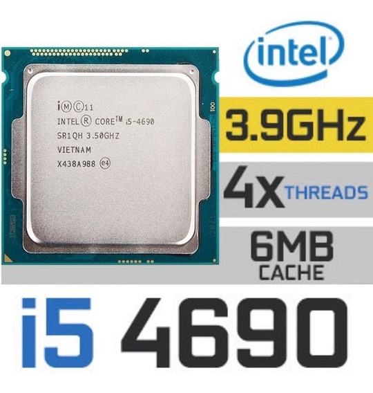 Intel Core I5 4690h 3.9ghz Socket 1150