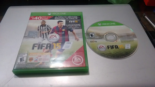 Fifa 15 Completo Para Xbox One,funcionando Perfectamente