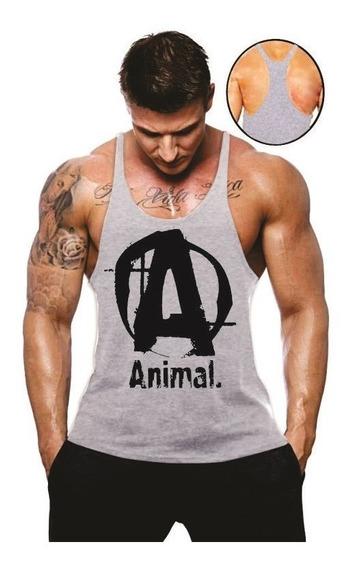 Regata Cavada Animal Musculação Academia Masculina Promoção