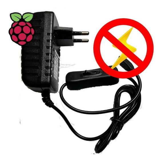 Fonte Para Raspberry Pi 3 5v 3a Real A Melhor