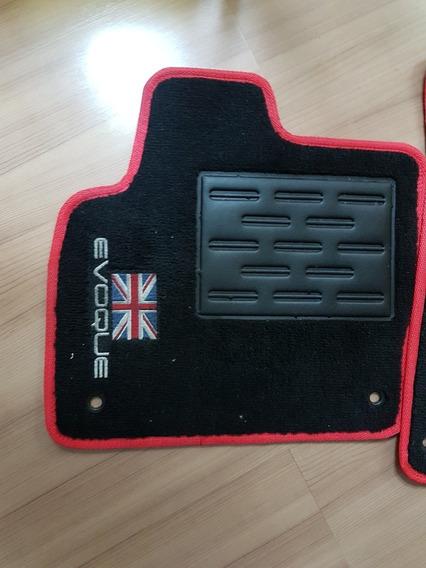 Jogo De Tapetes Em Carpete 10 Mm Luxo Range Rover Evoque