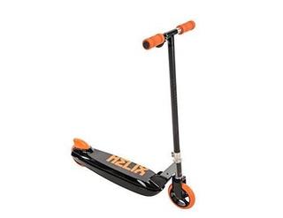 Huffy Scooter 12v Helix Eléctrico En Línea, Negro / Naranja