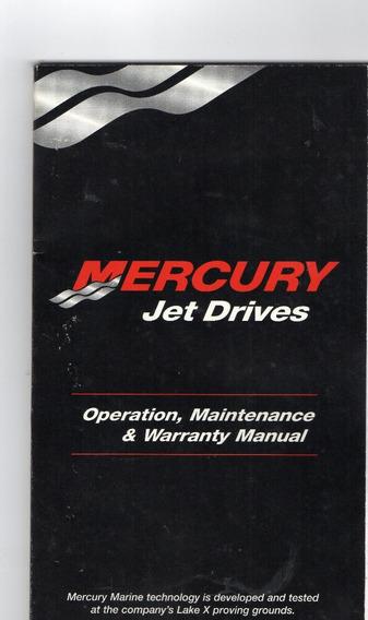 Manual Oper., Manut. Mercury Sport Jet 175xr2 - Michaella