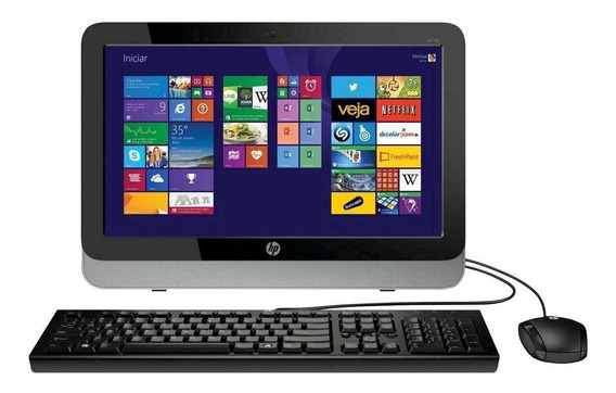 All In One Hp 18-5200br 4gb, 500gb, Win 8