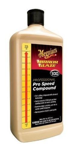 Imagen 1 de 1 de Meguiars M100 Mirror Glaze Pro Speed Rrcompuesto 32 Oz