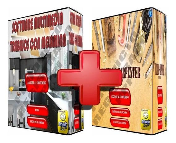 Aprenda A Crear Muebles + Planos + Carpinteria Promo 2x1