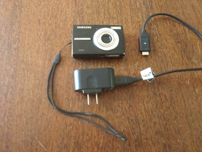 Câmera Fotográfica Samsung L200 10.2mp Completa Perfeita