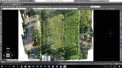Topografía Con Dron + Gps Rtk Procesamiento Imágenes Aéreas