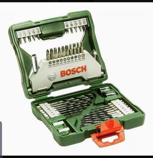 Maleta X-line Bosch Com 43 Unidades - Brocas - Bits - Escare