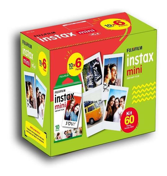 Combo Filme Instax Mini Pack - 60 Fotos Fujifilm