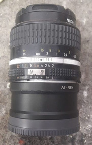 Lente 35 F2 Nikon Adaptada Para Sony E Mount A7sii A6400