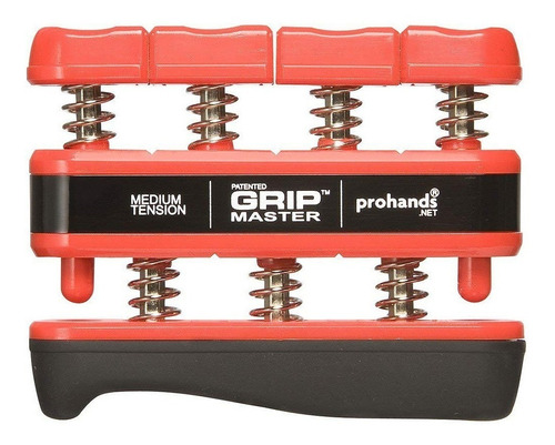 Ejercitador Para Dedos Gripmaster Red