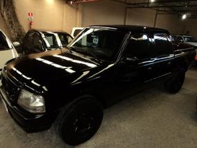 Ford Ranger 2.8 Xlt Cd Blindado 2003 Preta Diesel