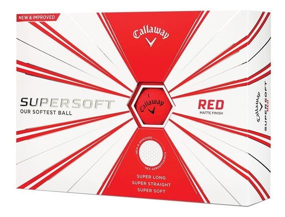 Pelotas Callaway Supersoft Red X 12