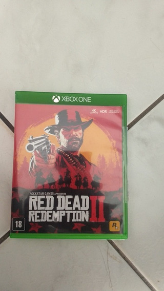 Red Dead Redemption 2 Mídia Física