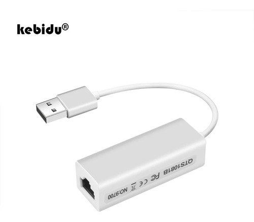 Convertidor Usb 2.0 A Cable Internet Rj45 Red Lan 10/100