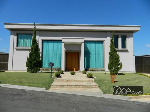 Casa Com 7 Dormitórios À Venda, 1000 M² Por R$ 3.400.000,00 - Condomínio Village Castelo - Itu/sp - Ca0269
