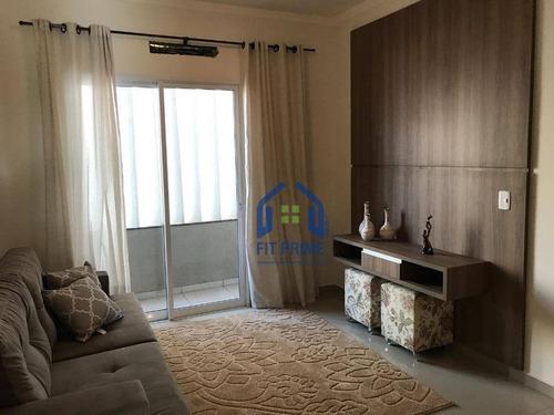 Apartamento Residencial À Venda, Parque Residencial Universo, São José Do Rio Preto - Ap0354. - Ap0354