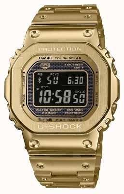 Relógio Masculino Dourado Cassio G-shock Protetion Aço