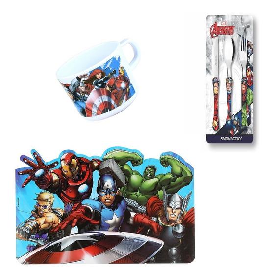 Conjunto Avengers Vingadores 1 - Oficial Jogo Americano