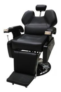 Sillon Barbero Negro Barberia Peluqueria A0001