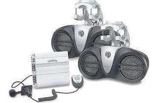 Equipo Audio Infinity 6100m Wake Nautica Lancha Yamaha Rider