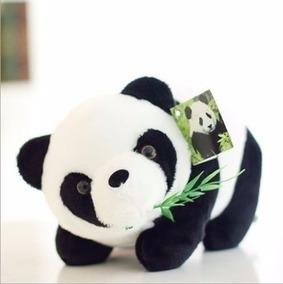 Urso De Pelúcia Panda 14 Cm Pandinha P/entrega