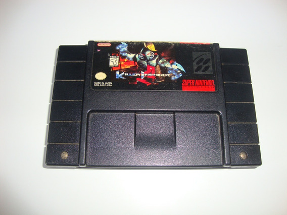 Killer Instinct Original Americano P/ Super Nintendo