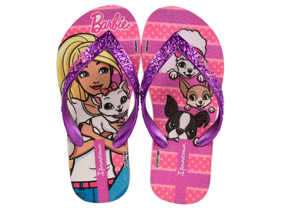 Ojotas Ipanema Barbie Glamour (chicos) 6 Cuotas Sin Interés.