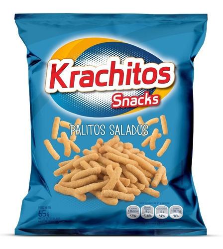Imagen 1 de 2 de Palitos Salados Krachitos 65g