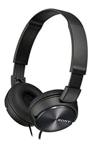 Sony Mdrzx310black Audifonos Cableados Con Banda Ajustada Y